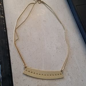 Madewell Necklace - gold tone